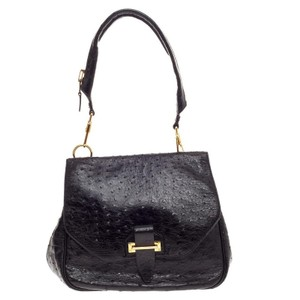 Tom Ford Ostrich Shoulder Bag