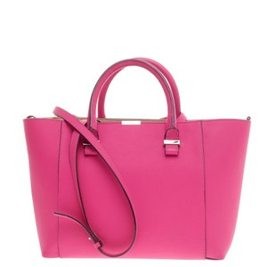 Victoria Beckham Leather Tote in Pink