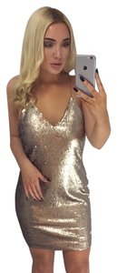 Other short dress bronze on Tradesy
