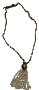 Chico's NWT Chico's ALORA TASS Gold Pearl Necklace