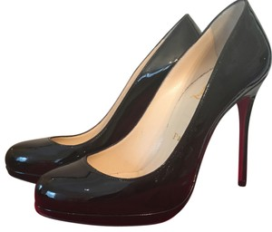 Christian Louboutin Patent Leather Black Pumps