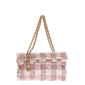 Chanel Tweed Flap Shoulder Bag
