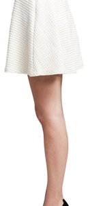 Banana Republic Mini Skirt Cream