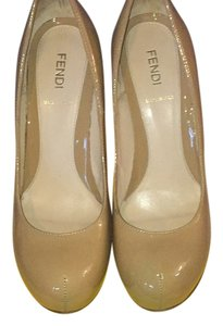 Fendi Nude Pumps
