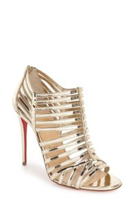 Christian Louboutin Heels Pumps Bootie Boots Gold Sandals