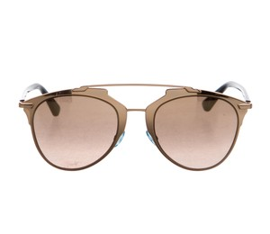 Dior Rose gold-tone Christian Dior Dior Reflected sunglasses
