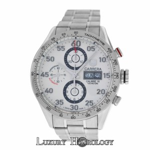 TAG Heuer Mint Authentic Men Tag Heuer Carrera CV2A11 Steel Automatic Chronograp