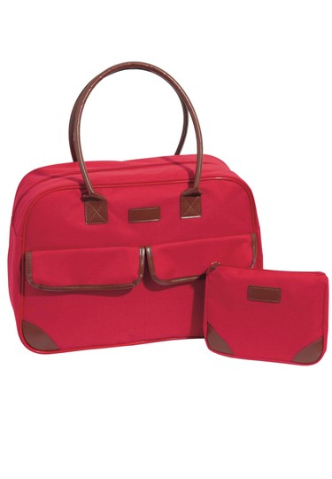 Preload https://img-static.tradesy.com/item/20381518/set-carry-on-and-make-up-cosmetic-red-microfibersponge-pvc-backing-lining-polyester-weekendtravel-ba-0-0-540-540.jpg