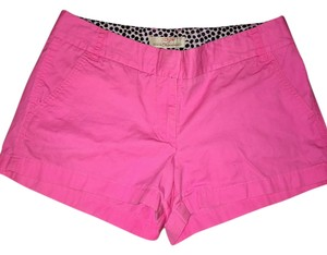 J.Crew Summer Casual Mini/Short Shorts Bright Pink