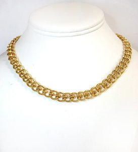 Tiffany & Co. Gorgeous Heavy 18K Yellow Gold Necklace 16