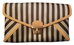 Henri Bendel Crossbody Stripe Clutch