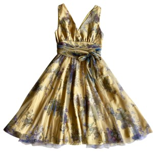 Anthropologie Wedding Party Garden Spring Easter Dress