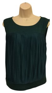 Ann Taylor LOFT Sleeveless Size S Top Green