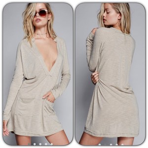 fp short dress Cream/tan on Tradesy