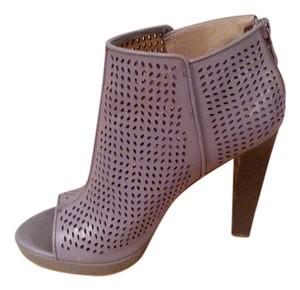 Rachel Roy Perforated Cut-out Bootie Grey Boots