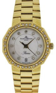 Baume & Mercier Baume & Mercier Riviera 18k Yellow Gold MOP Diamond Ladies Watch