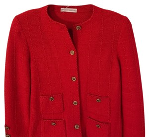 Knit Couture Red Blazer