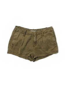 7 For All Mankind Shorts Olive Green