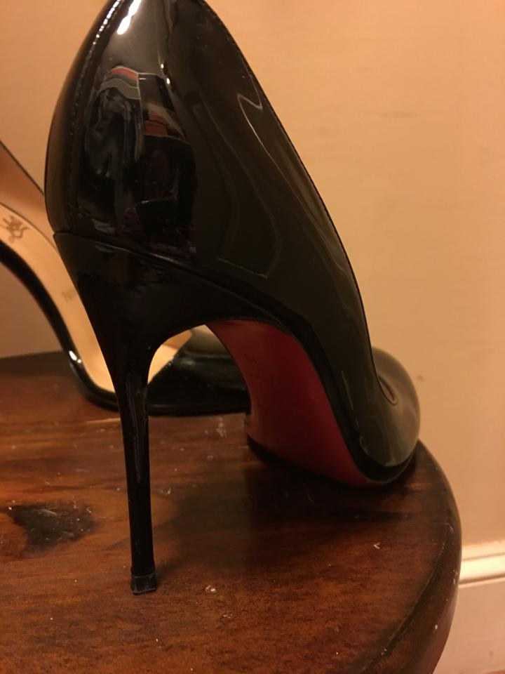 new arrival 0f1b2 22f02 Christian Louboutin Black Patent Helmour 36) Pre-owned Pumps Size US 6  Regular (M, B) 69% off retail