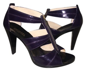 Michael Kors Tstrap Heels purple Sandals