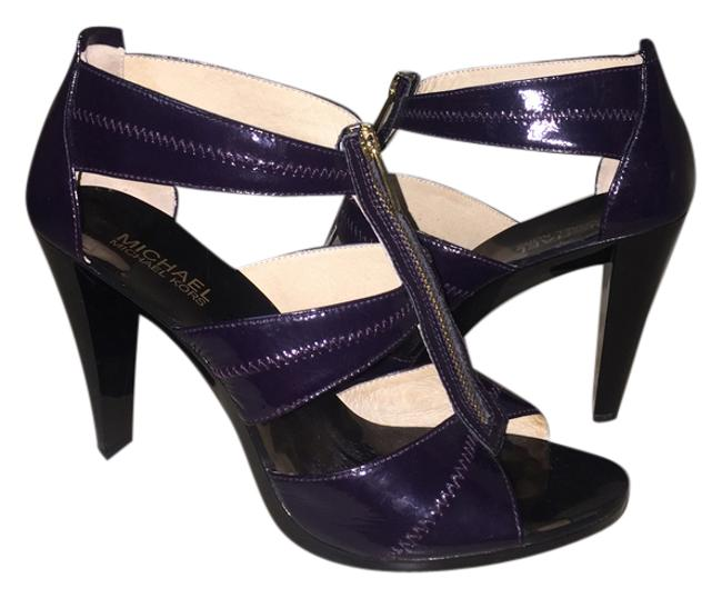 Item - Purple Berkley T Strap Heels Sandals Size US 9 Regular (M, B)