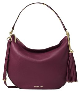 MICHAEL Michael Kors Brooklyn Convertible Venus Leather Shoulder Bag