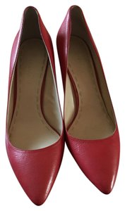 Enzo Angiolini Leather red Pumps