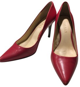 Lauren Ralph Lauren Scarlet Red Pumps