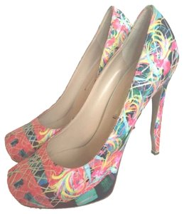 Nicholas Kirkwood Multi Color Pumps