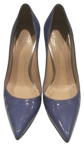 Stuart Weitzman Titanium Heel Classic Stylish Blue/Purple Pumps
