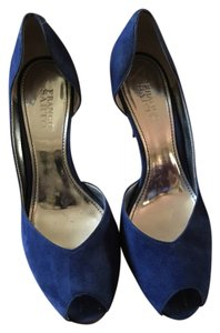 Franco Sarto royal blue Pumps