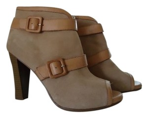 Ann Taylor LOFT Suede Leather wheat Boots