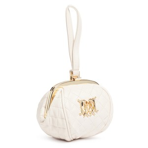 Moschino Wristlet in Ivory