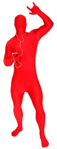 Other Adult Morphsuits - Large (6'-6'2) - Red