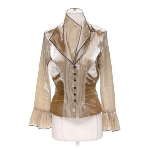Xscape Cocktail Top GOLD BROWN