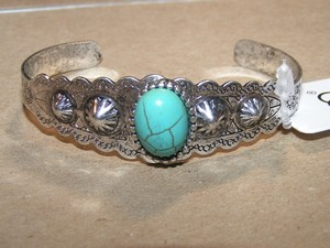 Reduced! Turquoise Cuff Bracelet Free Shipping