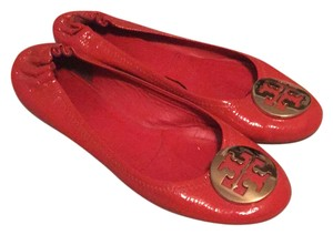 Tory Burch Habanero Pepper (Orange) Flats