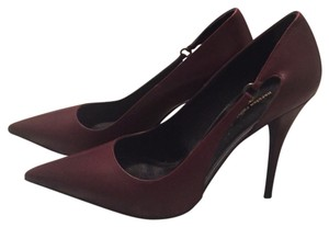 Narciso Rodriguez Burgundy Pumps