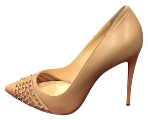 Christian Louboutin Heels Nude Pumps