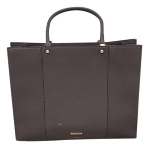 Rebecca Minkoff Leather Value Tote in Gray