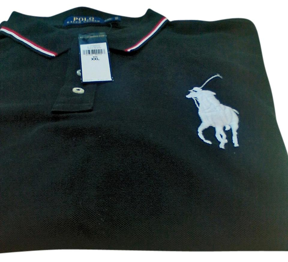 3a8e5754 Polo Ralph Lauren Big Pony Long Sleeved Shirt In Black Sweater 20% off  retail