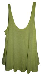 American Eagle Outfitters Sheer Loose Top Lime Green