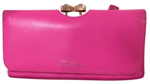 Ted Baker Leather crystal bobble purse
