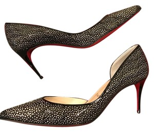 Christian Louboutin Heels Black/Nude Pumps