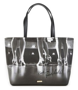 Kate Spade Kick Up Your Heels Tote in Gray