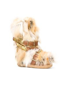 Moschino Fur Snow Boots
