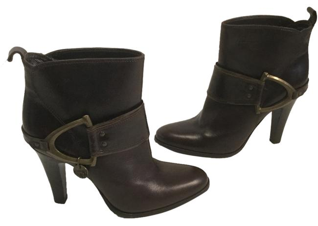 Item - Dark Brown Ankle Boots/Booties Size EU 36 (Approx. US 6) Regular (M, B)
