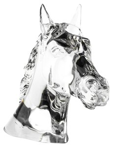 Baccarat Horse Head Trophy by Georgeon
