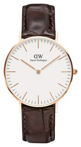 Daniel Wellington 0513DW Classic Reading Watch Rose Gold 36 mm