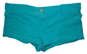 OP Stretchy Short Shorts Aqua